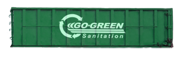 Large Trash Garbage Containers from Go Green